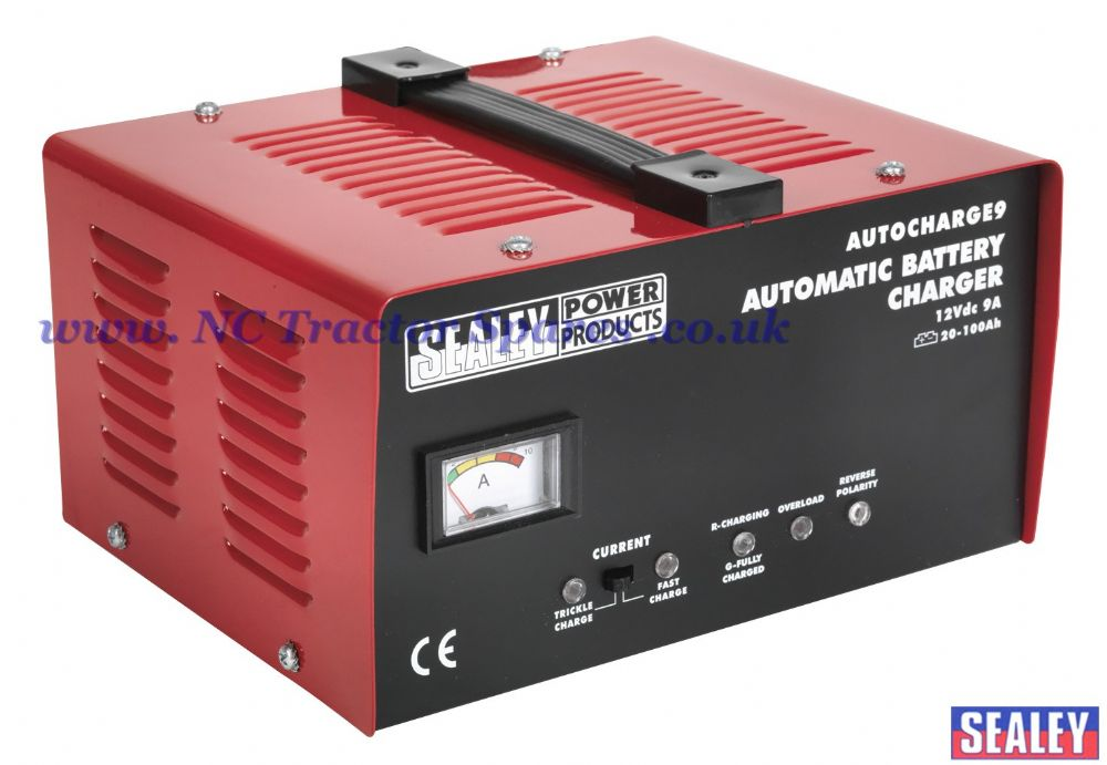 Battery Charger Electronic 9Amp 12V 230V